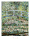 Le Pont Japonaise a Giverny - Custom Framing, Art Prints, Framed Pictures, Ready Made Frames Artists Materials & more - Art Prints - art@home