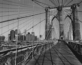 Across Brooklyn Bridge Art Print Wallart Picture - Custom Framing, Art Prints, Framed Pictures, Ready Made Frames Artists Materials & more - Art Prints - art@home