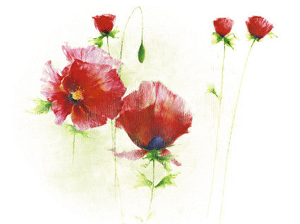 Red Poppies I - Art Print