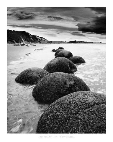 Otago Coast, New Zealand - Art Print