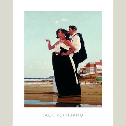 Jack Vettriano-The Missing Man II Print Wallart Picture - Custom Framing, Art Prints, Framed Pictures, Ready Made Frames Artists Materials & more - Art Prints - art@home