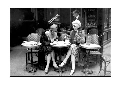 Cafe Et Cigarette - Art Print