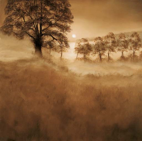 Misty Morning - Art Print