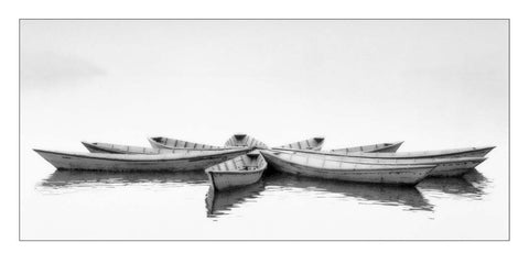 Zen Boats 50x100cm Art Print Wallart Picture - Custom Framing, Art Prints, Framed Pictures, Ready Made Frames Artists Materials & more - Art Prints - art@home