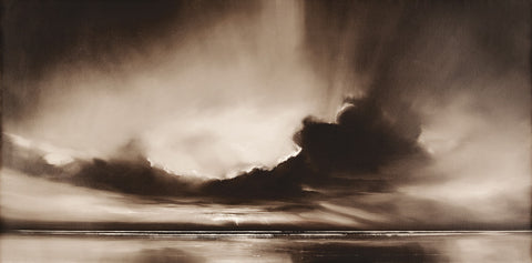 Mono Sky 50x100cm Art Print Wallart Picture - Custom Framing, Art Prints, Framed Pictures, Ready Made Frames Artists Materials & more - Art Prints - art@home