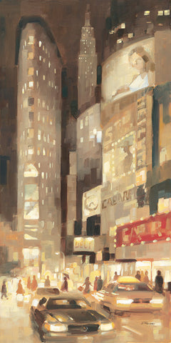 Midtown Glow - Art Print