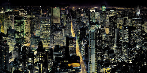 New York from the Empire State Building 50x100cm Art Print Wallart Picture - Custom Framing, Art Prints, Framed Pictures, Ready Made Frames Artists Materials & more - Art Prints - art@home