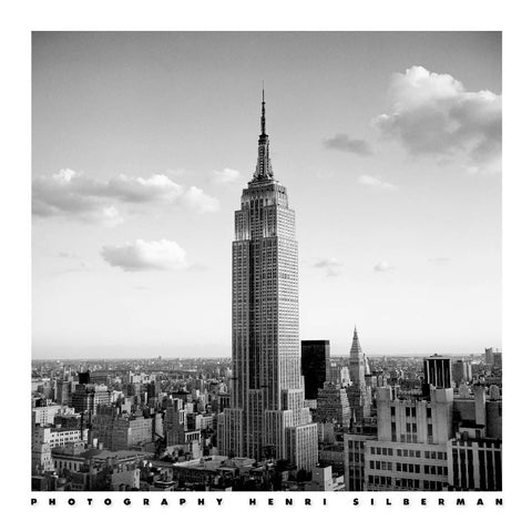 Empire State Building 60x60cm Online wallart Art Print - Custom Framing, Art Prints, Framed Pictures, Ready Made Frames Artists Materials & more - Art Prints - art@home