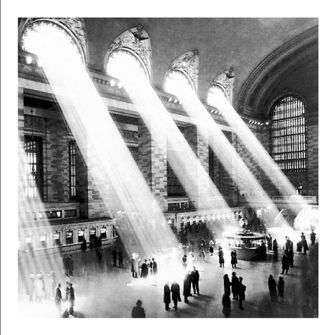 Grand Central Station 60x60cm Online wallart Art Print - Custom Framing, Art Prints, Framed Pictures, Ready Made Frames Artists Materials & more - Art Prints - art@home