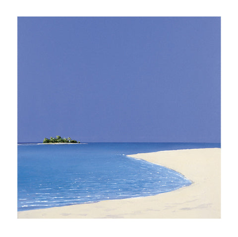 Island in the Sun II 60x60cm Online wallart Art Print - Custom Framing, Art Prints, Framed Pictures, Ready Made Frames Artists Materials & more - Art Prints - art@home