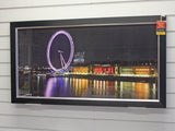 Framed London Eye Print