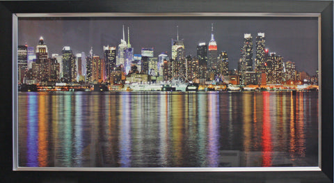 Framed Hudson River II , New York Photographic Print