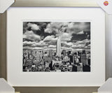 Framed New York Empire State Building Print