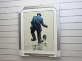 Framed Alexandra Millar - Homeward Bound, art print