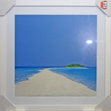 Framed Island in the Sun I