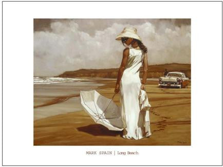 Long Beach - Custom Framing, Art Prints, Framed Pictures, Ready Made Frames Artists Materials & more - Art Prints - Mark Spain