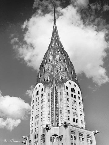Top Of Chrysler Building 60x80cm Art Print Wall Picture - Custom Framing, Art Prints, Framed Pictures, Ready Made Frames Artists Materials & more - Art Prints - art@home