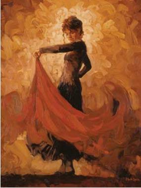 Flamenco I - Custom Framing, Art Prints, Framed Pictures, Ready Made Frames Artists Materials & more - Art Prints - Mark Spain