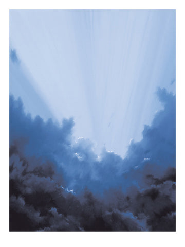 Storm Breaking - Art Print