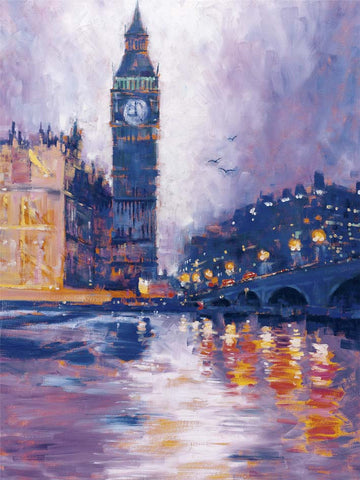 Roy Avis Big Ben 60x80cm Art Print Wallart Picture - Custom Framing, Art Prints, Framed Pictures, Ready Made Frames Artists Materials & more - Art Prints - art@home