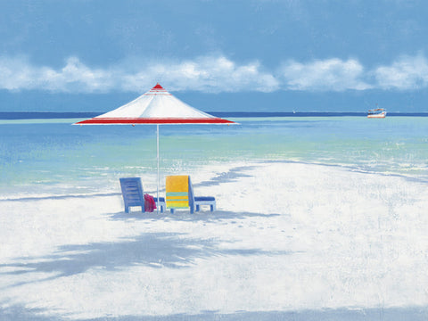 Beachlife 2 60x80cm Art Print Wall Picture - Custom Framing, Art Prints, Framed Pictures, Ready Made Frames Artists Materials & more - Art Prints - art@home
