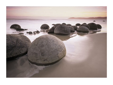 Moeraki Morning 60x80cm Art Print Wall Picture - Custom Framing, Art Prints, Framed Pictures, Ready Made Frames Artists Materials & more - Art Prints - art@home
