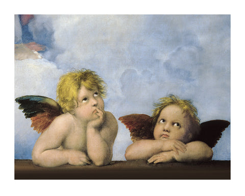 Little Angels Portrait Art Print Wall Art Picture - Custom Framing, Art Prints, Framed Pictures, Ready Made Frames Artists Materials & more - Art Prints - art@home