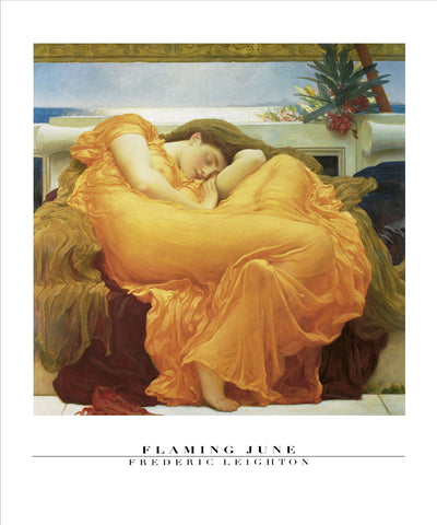 Flaming June - Custom Framing, Art Prints, Framed Pictures, Ready Made Frames Artists Materials & more - Art Prints - art@home