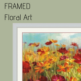 Framed - Floral Art Collection