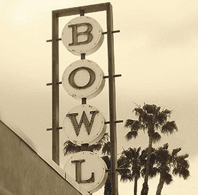 Bowl Sign 30x30cm Art Print Wall Picture - Custom Framing, Art Prints, Framed Pictures, Ready Made Frames Artists Materials & more - Art Prints - art@home
