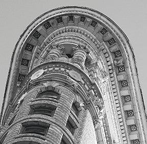 New York, Flat Iron 30x30cm Art Print Wall Picture - Custom Framing, Art Prints, Framed Pictures, Ready Made Frames Artists Materials & more - Art Prints - art@home