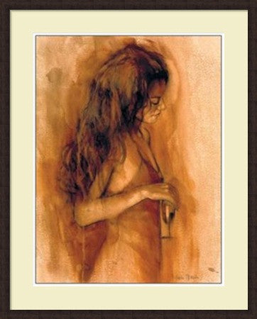 Mark Spain  - After Hours Framed Art Print Poster Picture Mahogany Frame