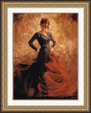 Mark Spain - Flamenco II - Custom Framing, Art Prints, Framed Pictures, Ready Made Frames Artists Materials & more - Framed Picture - art@home