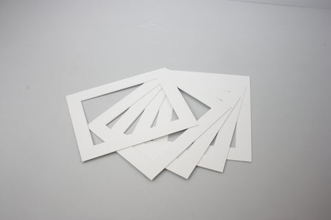 Pack of 5 Mounts - White