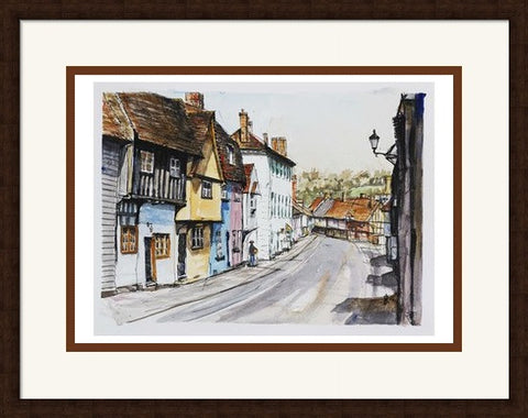 Jim Hunt - Church Street Saffron Walden