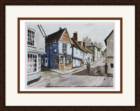 Jim Hunt - Castle Street Saffron Walden
