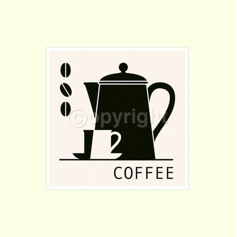 Coffee - Mounted Art Print