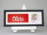Name In A Frame - Black Frame