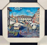 Sonia Villiers - Square, Framed, Local Art