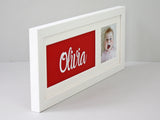 Name In A Frame - White Frame