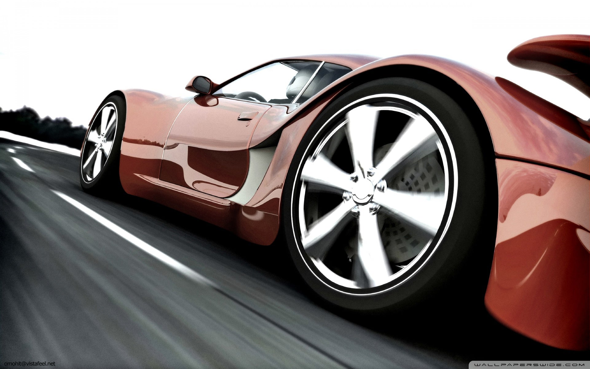 car, auto, sport, red, track