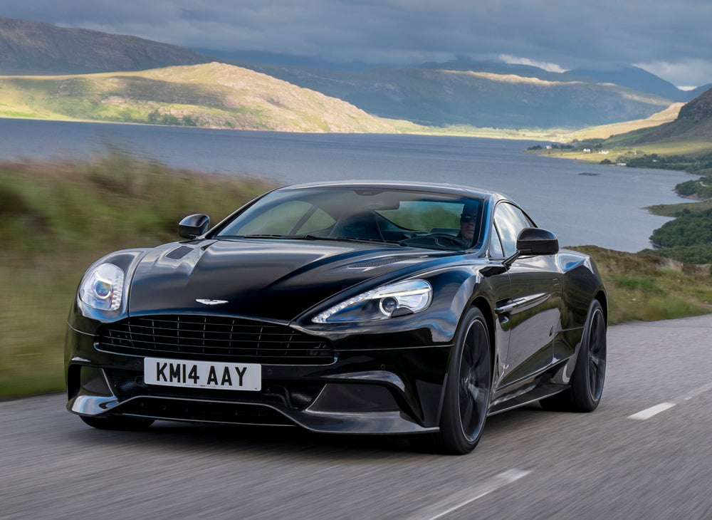 aston, martin, super, car, speed, road, mountain, landscape, VIP, cost, black, sport