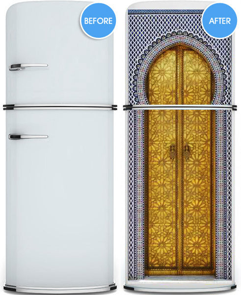 "Door Wall STICKER poster Aladdin cartoon decole cover film 30""x79"" (77x200 cm)"