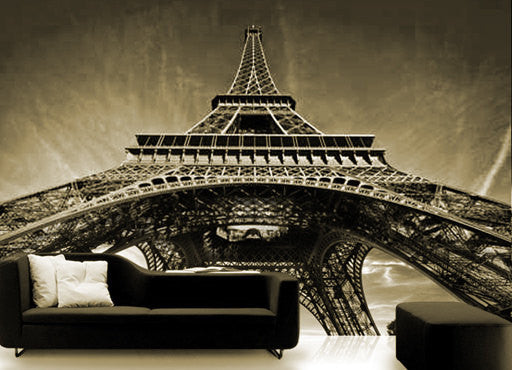Wall STICKER MURAL Paris Eiffel tower decole poster - Pulaton stickers and posters  - 2