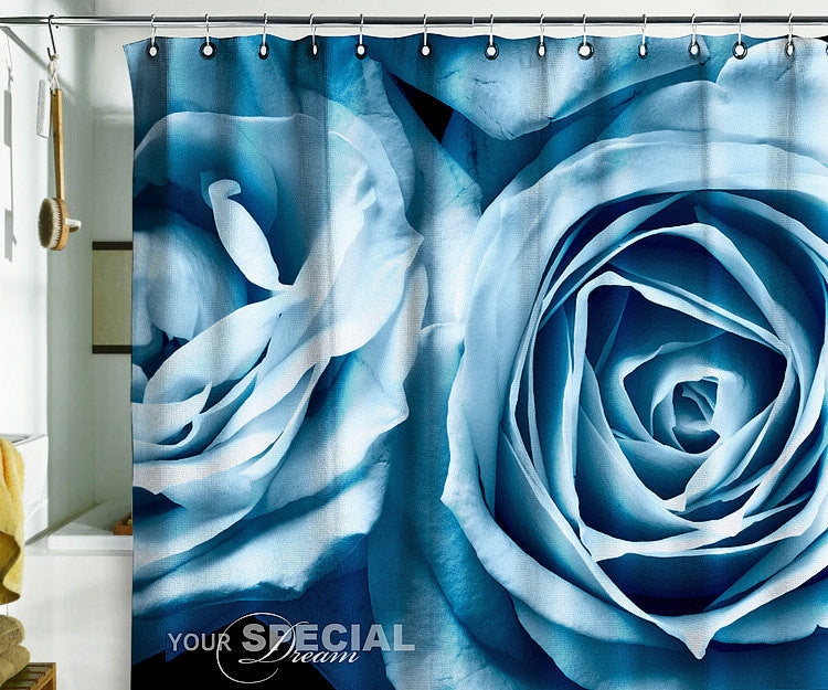 Bath Shower Curtain rose roses flower flowers garde - Pulaton stickers and posters