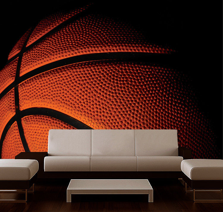 Wall Sticker MURAL basketball ball sport college dream decole poster - Pulaton stickers and posters  - 1