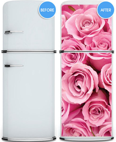 "Door STICKER rose st. valentines day mural decole film self-adhesive poster 30""x79""(77x200 cm) - Pulaton stickers and posters  - 3"