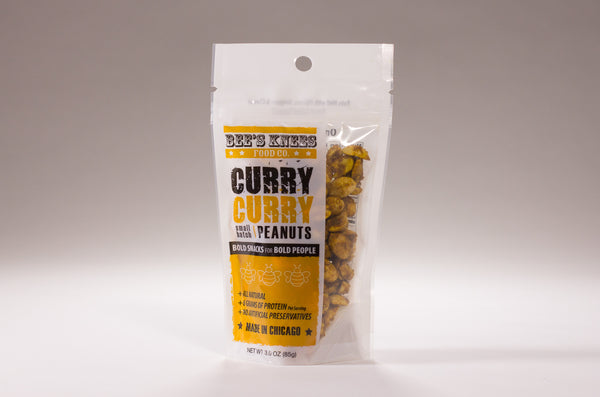Curry Roasted Peanuts (3 bags)