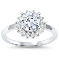 Imperial Round Halo Engagement Bridal Ring