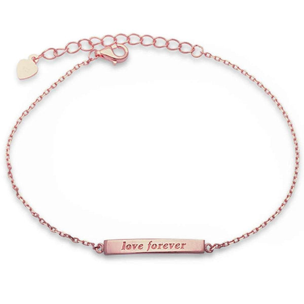 Rose Gold Love Forever Bracelet